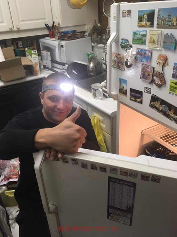 Appliance repair service in Uxbridg